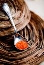 Caviale rosso Fotografie Stock Libere da Diritti