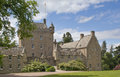 Cawdor castle scotland and gardens near inverness Stock Photos