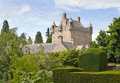 Cawdor castle scotland and gardens near inverness Stock Images