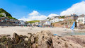 Cawsand Beach Cornwall Stock Photo