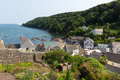 Cawsand cornwall england united kingdom view of village on the rame peninsula overlooking plymouth sound Royalty Free Stock Photography