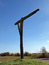 Caxton Gibbet. Royalty Free Stock Images