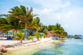 Caye Caulker Colors Royalty Free Stock Photo