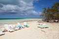 Cayo coco cuba famous beach all inclusive resort Royalty Free Stock Photography