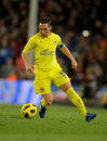 Cazorla of Villarreal CF Royalty Free Stock Photography