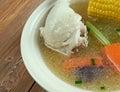 Cazuela de ave chilean pollo Stock Images