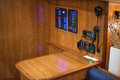 Cb radio in a boat s control room roomcolor image canon dmkii Royalty Free Stock Photo