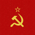 Cccp flag symbol abstract background Royalty Free Stock Photos