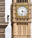 CCTV Camera with blurred Big Ben in Background