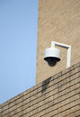 Cctv camera closeup image of security outdoor Royalty Free Stock Image