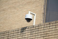 Cctv camera closeup image of security outdoor Stock Image
