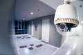 CCTV Camera or surveillance Operating in condominium with fish e