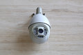 Cctv camera on the wall Royalty Free Stock Photos