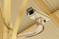 CCTV security video surveillance camera Royalty Free Stock Photo