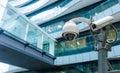 CCTV or surveillance camera Royalty Free Stock Photo