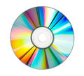 CD with Clipping Path Stock Image