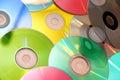 Kompaktný disk farbistý