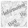 CD duplication word cloud concept Royalty Free Stock Photo