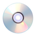 CD, DVD or Blu-Ray disc Royalty Free Stock Photo