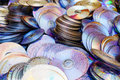 Cd dvd disks compact discs Stock Photo