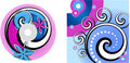 CD - DVD Label Design Royalty Free Stock Photo