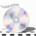 Cd football anthem the for champions ready to new victories Royalty Free Stock Photos