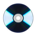 Cd rom dvd cd disc on a white background Royalty Free Stock Photography