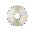 CD rom Isolated on white Royalty Free Stock Photo