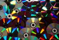 Cds and dvds Royalty Free Stock Photo