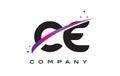 CE C E Black Letter Logo Desig...