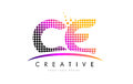 CE C E Letter Logo Design With...