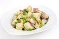 Ceasar potato salad side dish Stock Photos