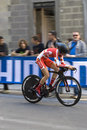Cecile ludwing denmark uci road world championshi championships tuscany individual time trial women juniors note that the Stock Photography