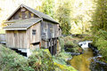 Cedar Creek Grist Mill Stock Image