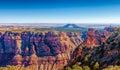 Cedar mountain alla vista del deserto grand canyon arizona Immagine Stock