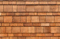 Cedar Shingles Royalty Free Stock Photos