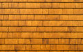 Cedar shingles rustic background texture Royalty Free Stock Photography