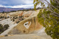Cedar wash arch in grand staircase escalante national monument utah Stock Photography