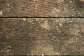 Cedar wood planks close up of weathered Royalty Free Stock Photos