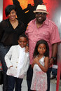 Cedric the entertainer cedric the entertainer family arrives at karate kid movie premire village theater westwood ca june Stock Photo