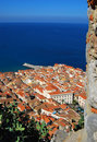 Cefalu, Mediterranean sea, Sicily Stock Photo
