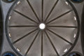Ceiling of the Basilica di Santa Croce in Florence Royalty Free Stock Photo