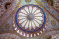 Ceiling of the Blue Mosque Royalty Free Stock Photo