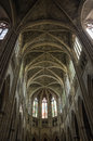 Ceiling of bordeaux cathedral cathedrale saint andre de is a roman catholic seat the archbishop bazas Stock Photos