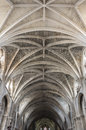 Ceiling of bordeaux cathedral cathedrale saint andre de is a roman catholic seat the archbishop bazas Royalty Free Stock Photo