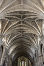 Ceiling of bordeaux cathedral cathedrale saint andre de is a roman catholic seat the archbishop bazas Stock Images