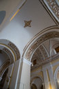 Ceiling of the cathedral in old san juan puerto rico Royalty Free Stock Images