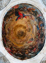 Ceiling in a dome of the Cathedral of Pisa. Stock Photo
