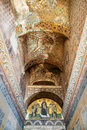 Ceiling of the entrance to the hagia sophia in istanbul turkey on may is greatest monument byzantine culture Stock Images