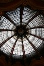 Ceiling of the galeries lafayette Royalty Free Stock Photography